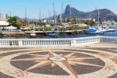 Corcovado Christ the Redeemer Guanabara bay, Rio de Janeiro, Bra — Stock Photo