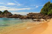 Small beach Ferradurinha sea roc, Buzios, Rio de Janeiro, Brazil — Foto de Stock