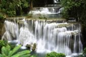 Huaymaekamin Waterfall — Stock Photo