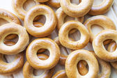Dry bread-rings — Stock Photo