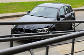 BMW 1-series at the test drive — Stock Photo