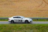 New Jaguar XE — Stock Photo
