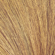 Close up detail of a broom texture. Grunge texture of dry grass — Stock Photo #62920705