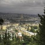 Panorama aerial view of Kyiv — Stock Photo #67791035
