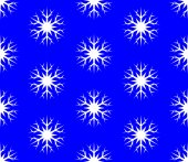 Background of snowflakes. pattern — Stock Vector