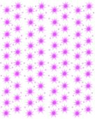Abstract pattern stars snowflakes — Stock Vector