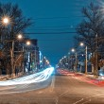 Night city. — Stock Photo #65006755