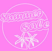 Banner de venda verão — Vetor de Stock