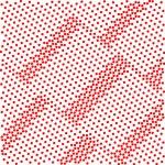 Abstract geometric retro pattern seamless. Polka dot background. — Stock Vector #77291130