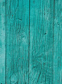 Old green wooden fence closeup — Stockfoto
