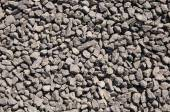 Triturados grava piedra, marrón closeup — Foto de Stock