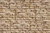 Slabs imitation stone on wall closeup — Foto Stock