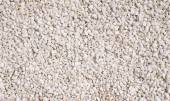 A texture of white gravel closeup  — Stock Photo