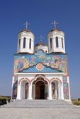 Church in Orthodox Monastery Codru near Babadag, Romania — Stock Photo