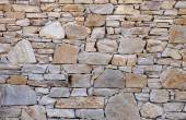 Colorful stone wall closeup  — Stock Photo