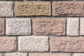 Old colorful stone wall closeup  — Stock Photo