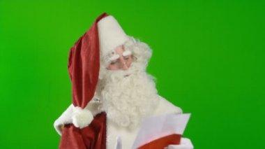 Santa Claus is Satisfied — Stock Video