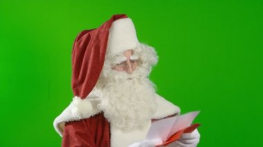 Santa Claus Does not Agree — Stock Video