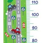 Постер, плакат: Road meter wall