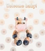 Welcome baby. Newborn. — Stock Photo
