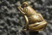 Bronze frog — Stock Photo
