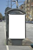 Blank billboard — Photo