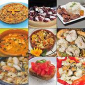 Shellfish and seafood — Stock Photo