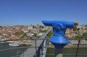 Vila Nova Gaia telescope — Stock Photo