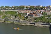 Vista città porto — Foto Stock