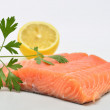 Raw salmon fillet — Stock Photo #52966791