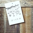 Paper sketch drawing with hearts — Stock Photo #62628275
