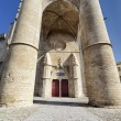Entrance of the Saint Pierre Cathedral in Montpellier — Stock Photo #79248424