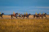 Kazakhstan Karkaralinsk 190 years anniversary by the 6 of September 2014 — Stockfoto