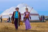 Kasachstan karkaralinsk 190 jahre jubiläum bei 6 september 2014 — Stockfoto