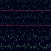 Heartbeat — Stock Vector