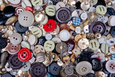 Full frame of buttons — Stock Photo