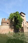 Castle of Fontanellato, landmark in Italy — Foto de Stock