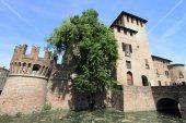 Middeleeuws kasteel van fontanellato, italië — Stockfoto