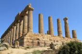 Ancient ruins of the Valley of Temples at Agrigento — Stok fotoğraf