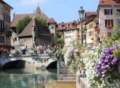 Annecy old town in France — Stock Photo
