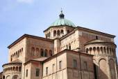 Medieval cathedral of Parma — Foto Stock