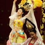 Tang dynasty dance in Xian — Stock Photo #55645297