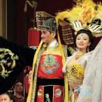 Tang dynasty dance at Xian, China — Stock Photo #55645301