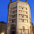 Parma Baptistery at night — Stock Photo #57574585