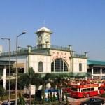Star Ferry Tsimshatsui pier, Hong Kong — Stock Photo #58401751