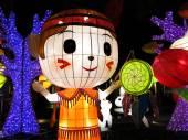 Chinese cartoon lanterns — Foto de Stock
