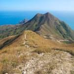 Mountain landscape at Sai Kung Bay — Stock Photo #63793581