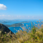 Beautiful landscape at Sai Kung geological park — Stock Photo #63793585