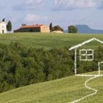 Concept of dream home — Stock Photo #66920699
