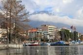 Lake maggiore ve locarno şehir — Stok fotoğraf